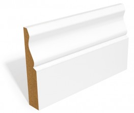 SAM Ogee skirting and architrave is usually supplied with two coats of water based primer.  It is also available unprimed.  If you would prefer a profile that does not require any additional painting the SAM Ogee is available fully-finished.  If you would like...
